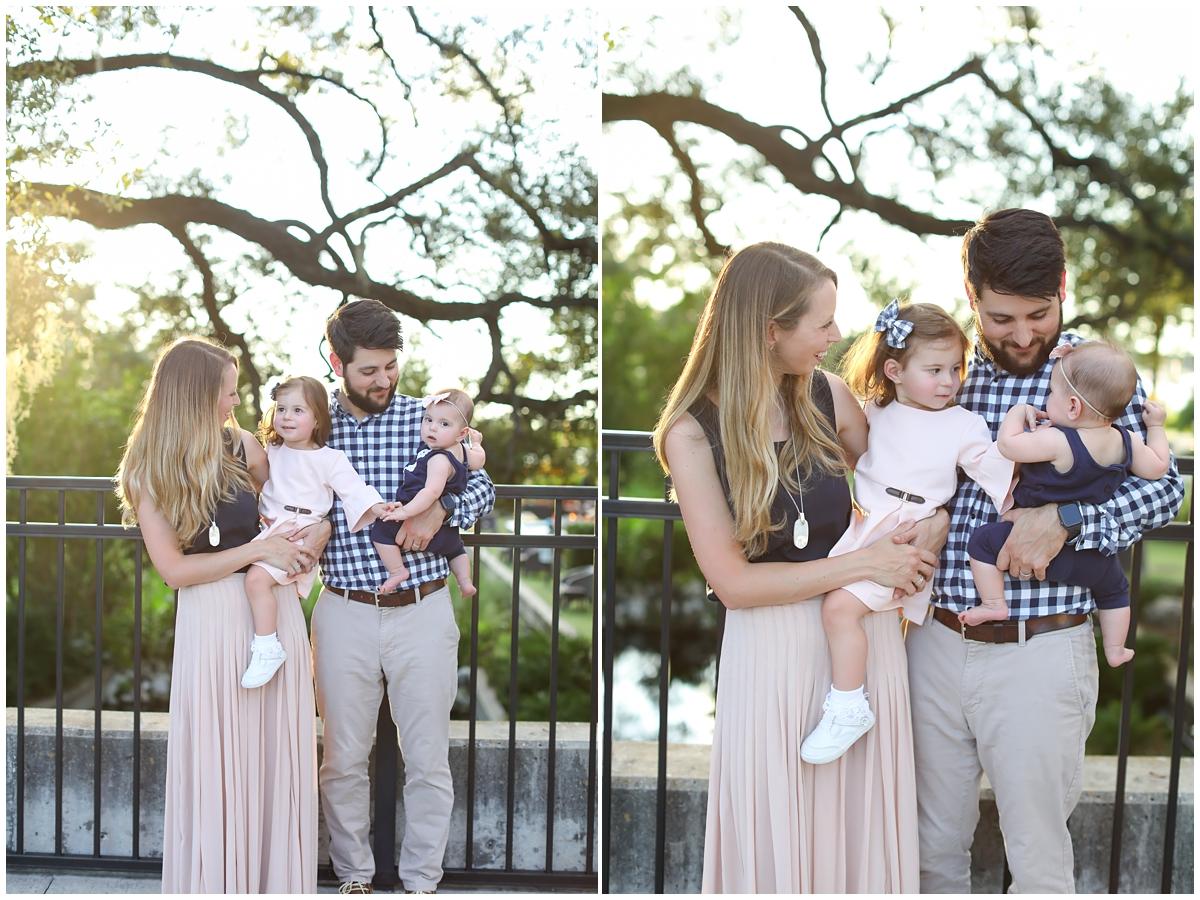 Sunset family photos Tampa