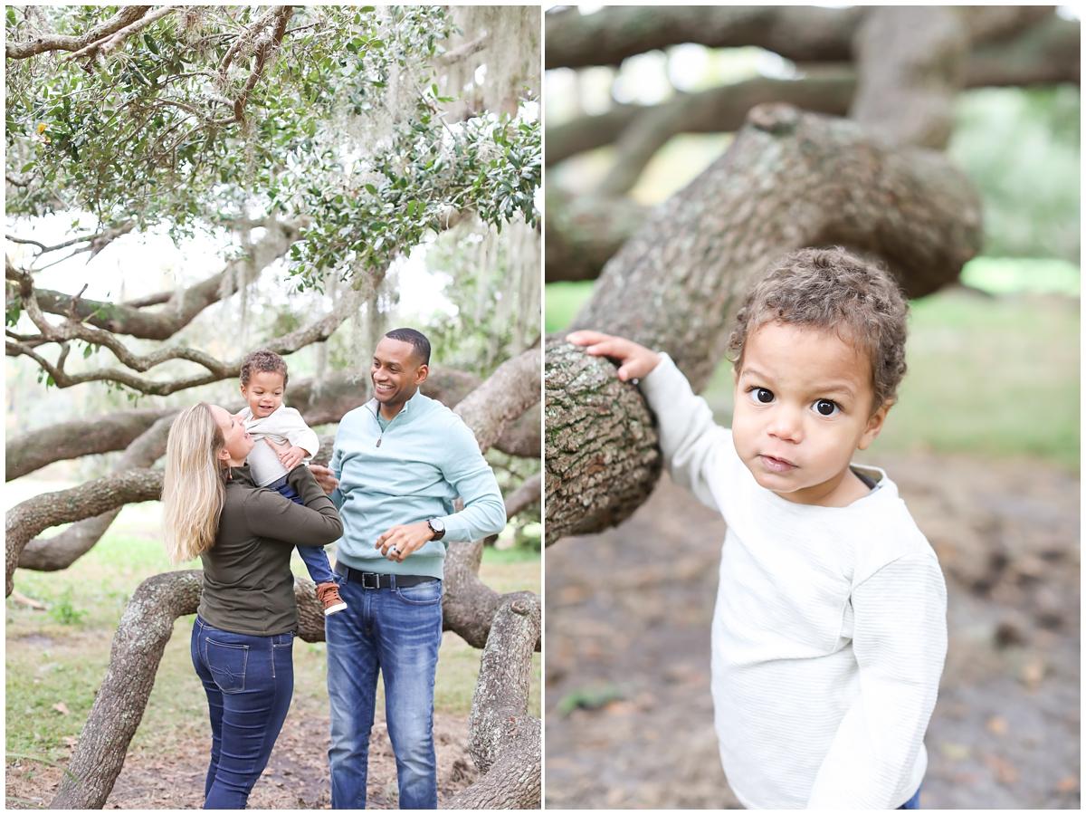 Toddler family photos
