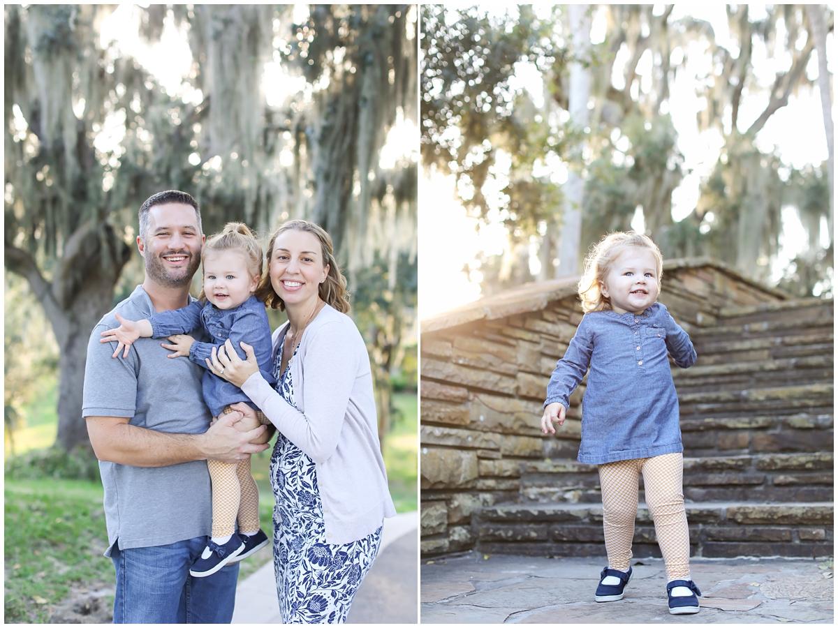Tampa outdoor family photos