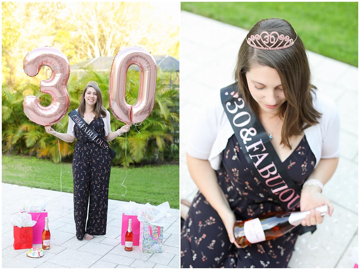 30th birthday photos Tampa