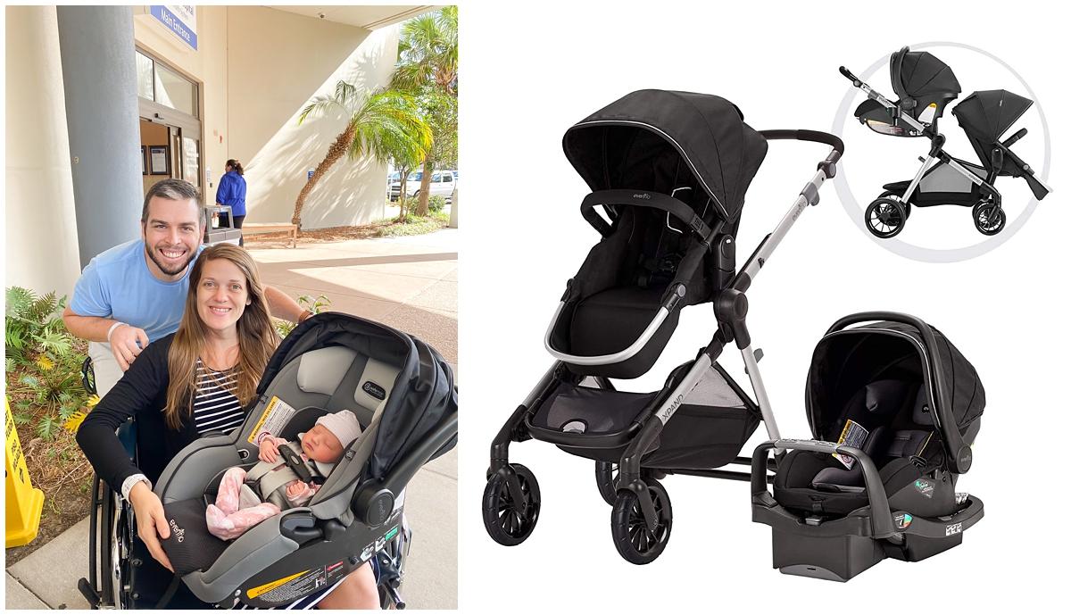 Evenflo pivot xpand double stroller