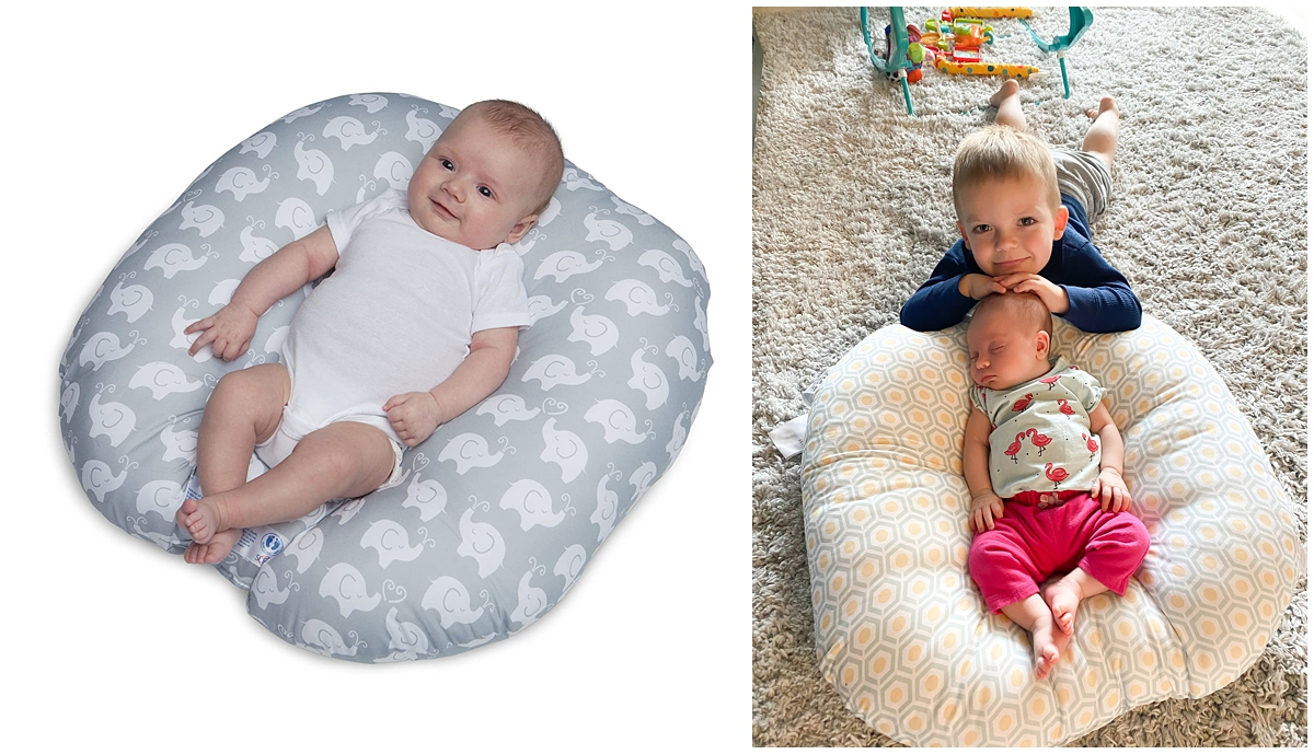 boppy newborn lounger baby registry