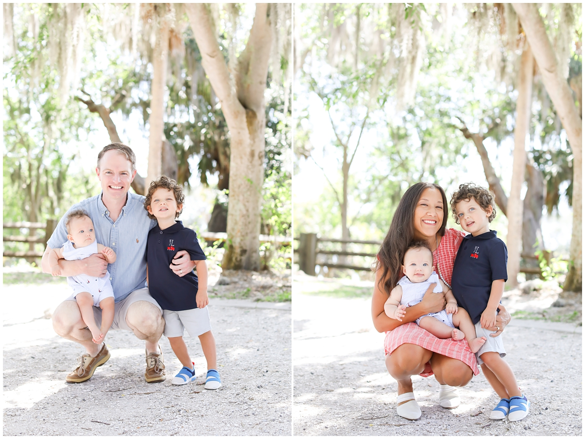 Tampa family 6 month photographer