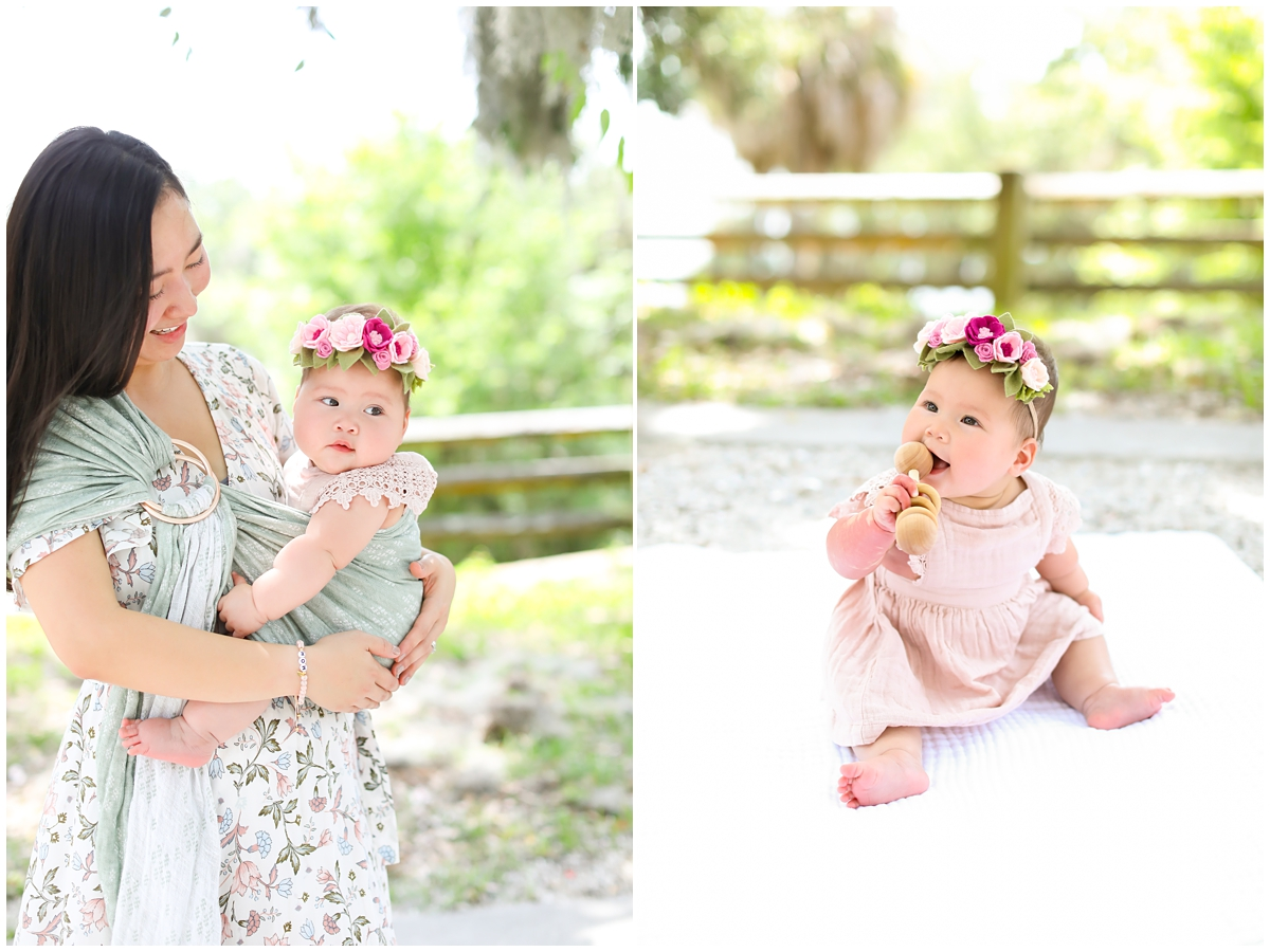 Mother daughter Tampa family photography