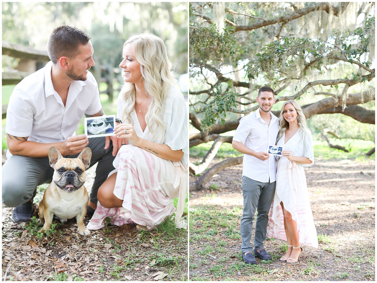 Pregnancy announcement Tampa photographer