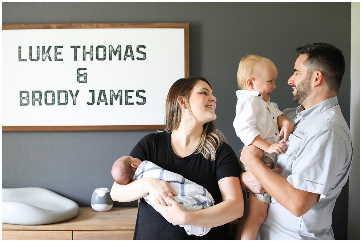 Family newborn photos Tampa