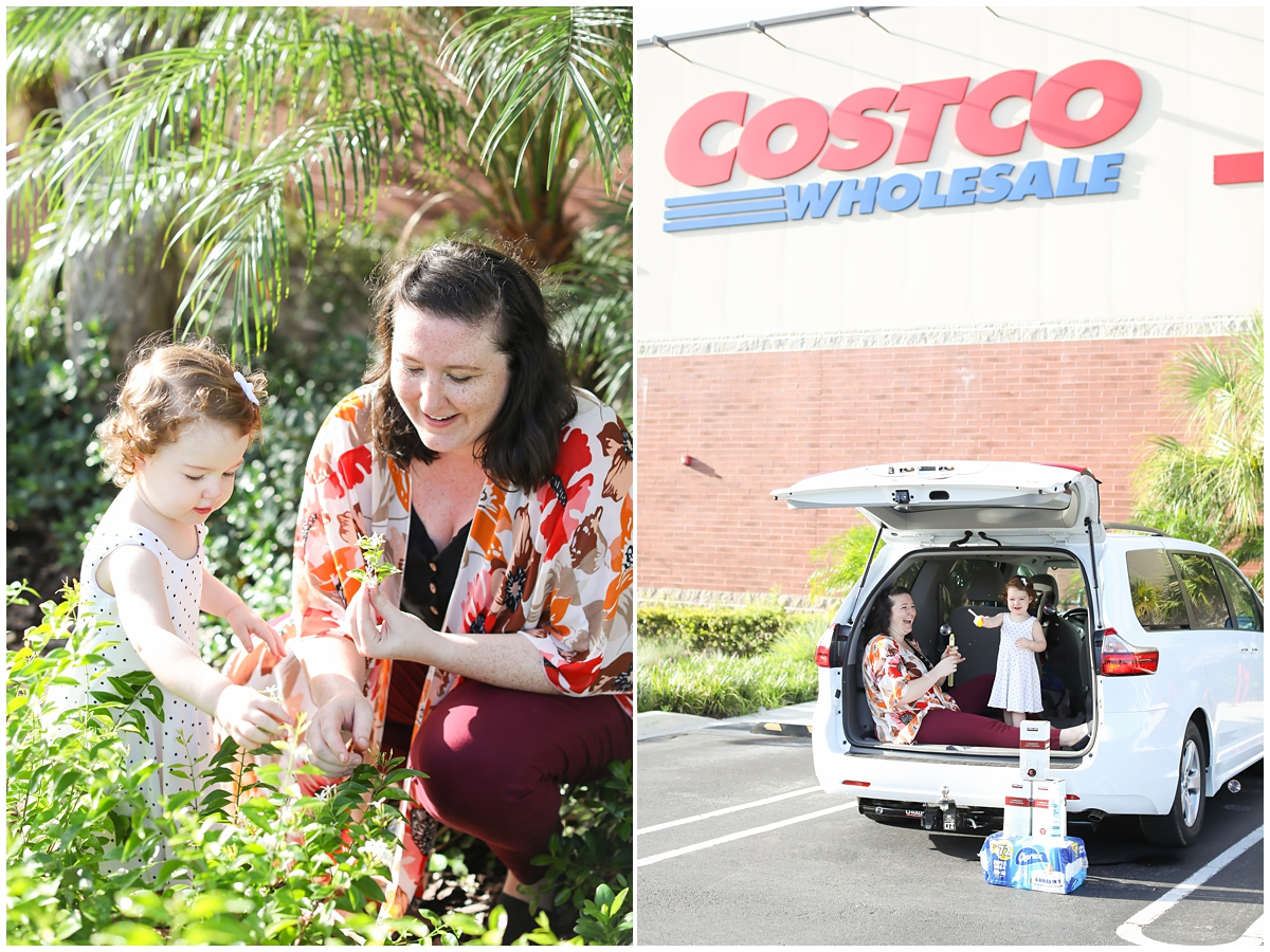 Costco pandemic photo session