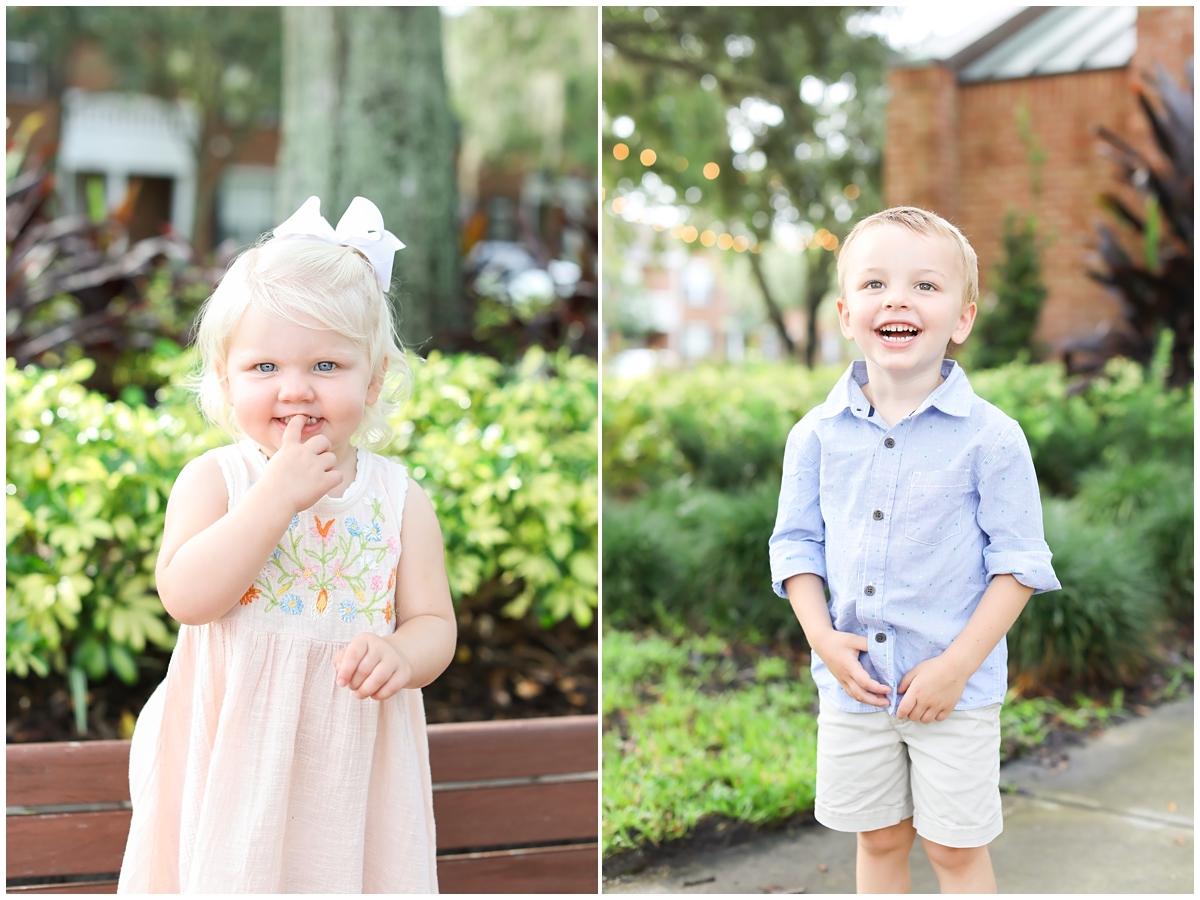 Tampa family mini sessions